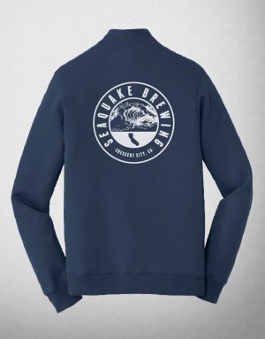 SeaQuake Royal Blue Quarter Zip Sweatshirt