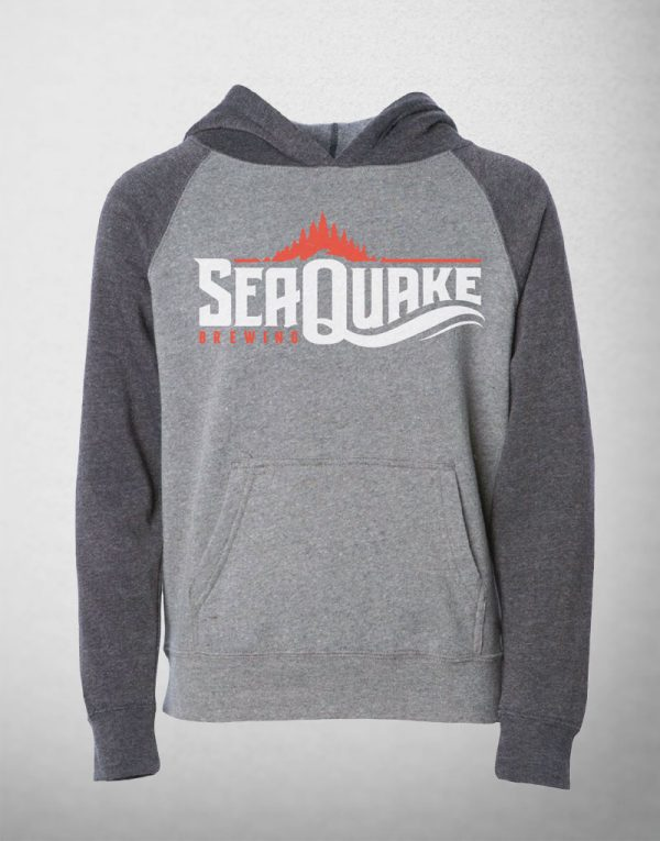 SeaQuake Children's Gray Pullover Sweatshirt