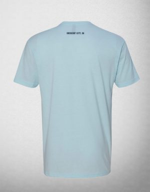 SeaQuake Wave Light Blue Short Sleeve T-shirt