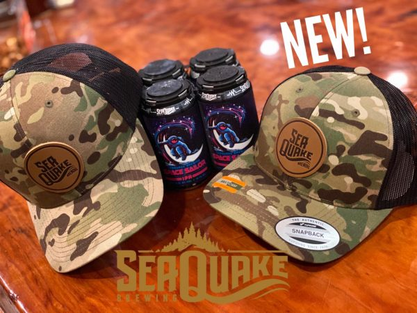 SeaQuake Camo Snap Back Hat